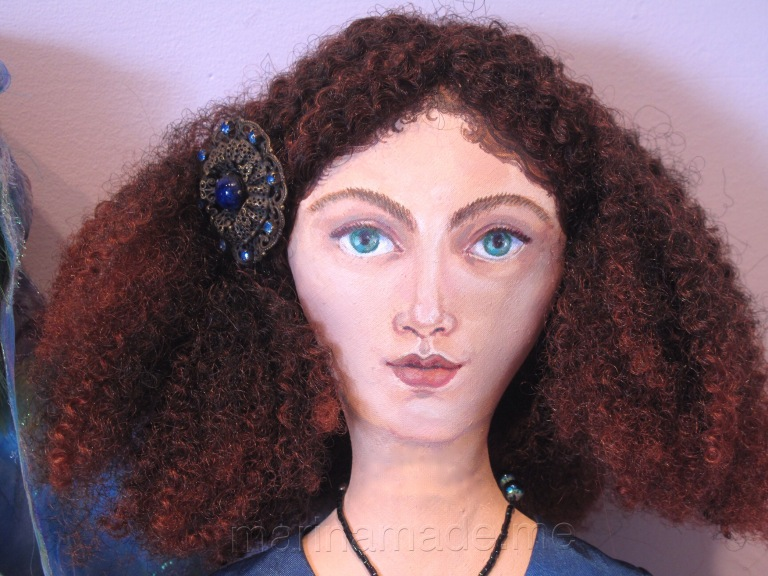 Art Muse doll by Marina Elphick.