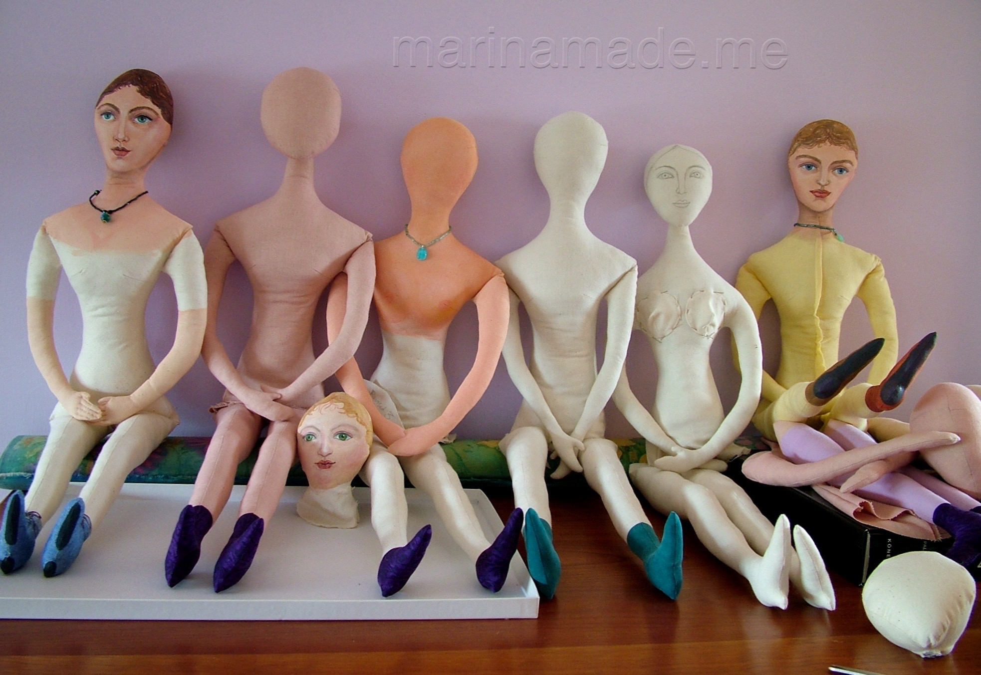 Art Muse dolls by Marina Elphick.