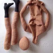Hand made art Muse dolls by Marina Elphick.