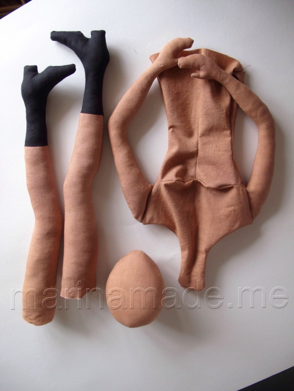 Hand made art Muse dolls by Marina Elphick.