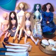 Art Muse dolls by Marina Elphick.