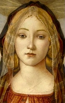 Simonetta Vespucci, 15th Century Italian beauty and Botticelli's muse. Marina's muses are inspired by artists models, individually hand made using fine cotton lawns and silks.