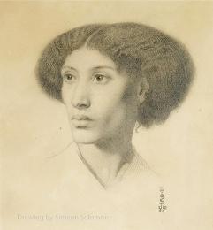 Portrait of Fanny Eaton by Simeon Solomon