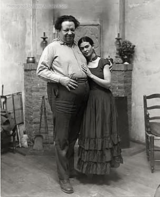 Diego and Frida 1930