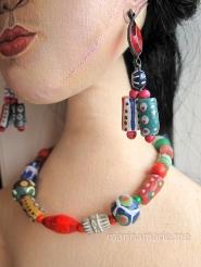 Handmade Frida Kahlo muse by Marina Elphick.