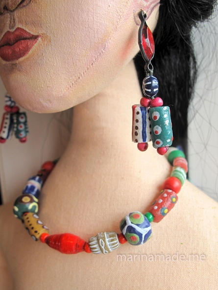 Handmade Frida Kahlo muse by Marina Elphick.