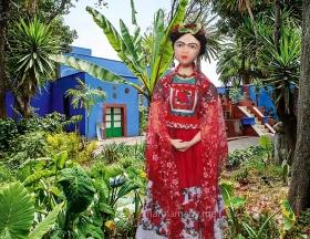 Frida Kahlo art muse by Marina.