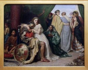 "John Everett Millais' ""Jepthah"", 1867."