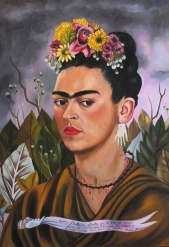 Self Portrait, Frida Kahlo 1940.