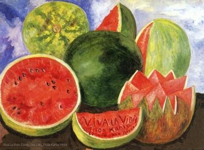 Viva La Vida, Frida Kahlo 1954,