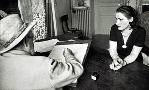 Henri Matisse drawing Lydia 1944.