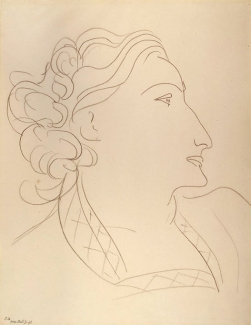 Matisse Henri - Woman in Profile (Portrait of Lydia Delectorskaya)