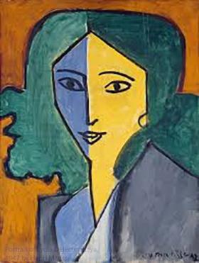 Portrait of Lydia Delectorskaya, 1947, by Henri Matisse.
