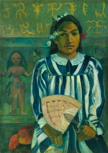Tehamana has many parents 1893, Gauguin