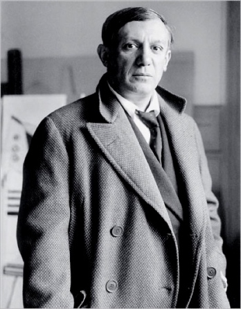 Picasso in 1928, soon after meeting the young Marie-Thérèse in Paris.