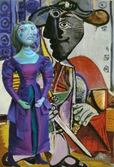 Dora Maar with Picasso's Matador. Dora Maar muse, designed and sculpted in textiles by artist, Marina Elphick.Dora Maar, Picasso's muse and lover, was a talented photographer and artist herself.