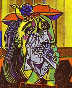 "Dora Maar as Picasso's ""Weeping Woman"", 1937."