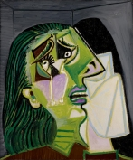 Pablo Picasso, Spanish Weeping woman 1937