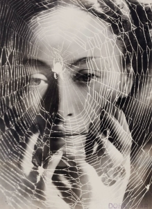 The Years Lie In Wait For You, Surreal photo 1936 by French artist Dora Maar. Dora Maar, renowned Surrealist photographer and Picasso's fourth Muse and lover.