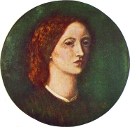 Self portrait by Elizabeth Siddal 1853-4