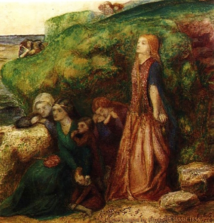 The Ladies Lament by Elizabeth Siddal 1856