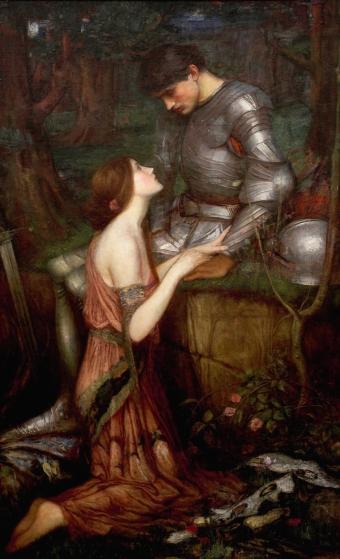 """Lamia"", by John William Waterhouse, 1905."