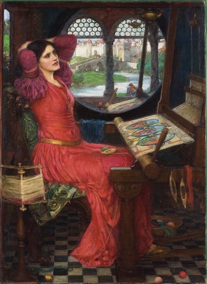 """I am half-sick of shadows, said the lady of shalott"", 1915 by John William Waterhouse. Marina's muse is based on the model in this painting, thought to be Beatrice Flaxman."