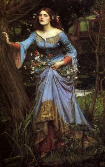 """Ophelia"" by John William Waterhouse."