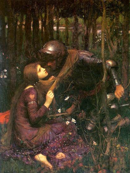 """""""La Belle Dame Sans Merci"""" by J.W.Waterhouse, 1893."""