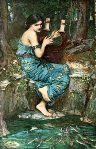 """The Charmer"", by J.W.Waterhouse 1911."