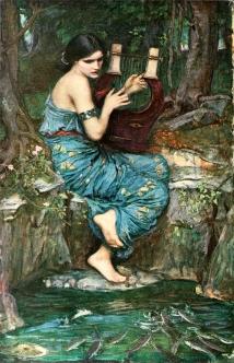 """""""The Charmer"""", by J.W.Waterhouse 1911."""