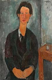 Portrait of his friend and fellow artist, Chaim Soutine, 1917, by Modigliani.