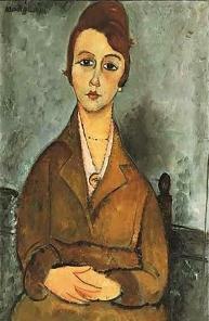 Portrait of Suzanne Valadon, Amedeo Modigliani, 1918.