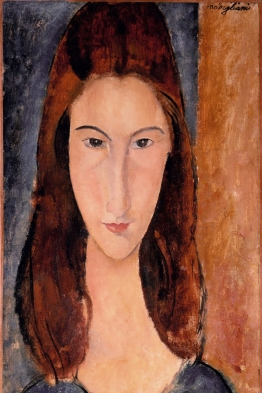 Portrait of a young girl, Jeanne Hébuterne.
