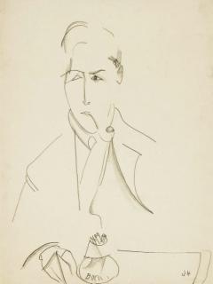 Drawing by Jeanne Hébuterne.