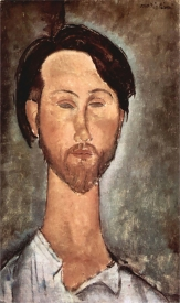 Portrait of Leopold Zborowski, 1916 by Modigliani.