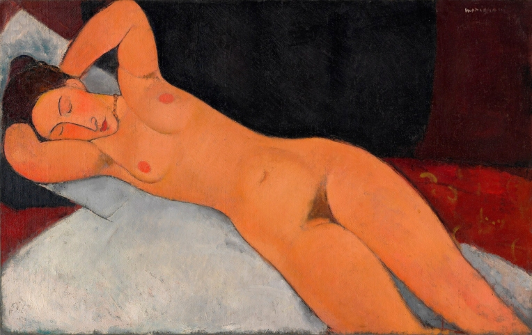 Nude by Modigliani, 1917.