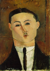 Portrait of Paul Guillaume, Modigliani, 1916.