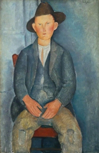 The Little Peasant (Le Petit Paysan) by Amedeo Modigliani.