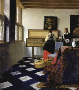 A Lady at the Virginal with a Gentleman, Vermeer 1662-5 Marina's muses aim to educate and inform, appealing aesthetically to art lovers and students. https://marinamade.me/
