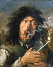 Joos van Craesbeeck's 'The Smoker' an example of a tronie.