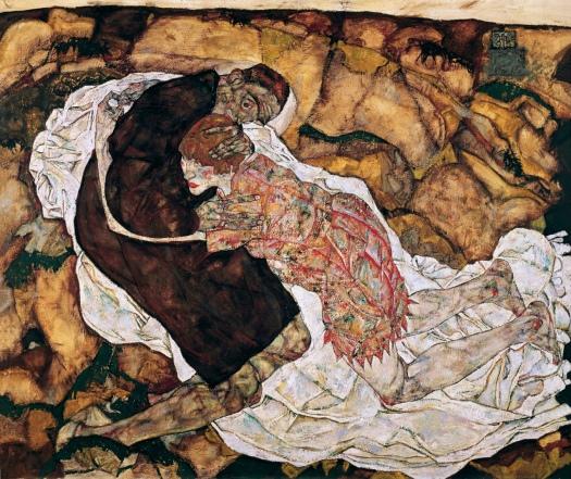 Death and the Maiden, Egon Schiele, 1914-15.