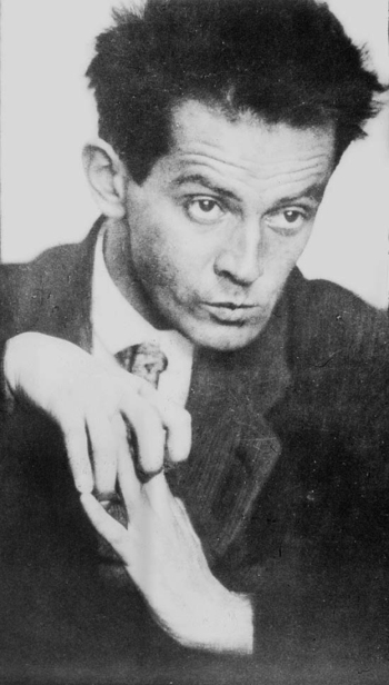 Egon Schiele, photographed by Anton Josef Trčka, 1914