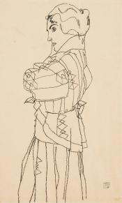 Egon Schiele, Friederike Maria Beer, 1914.