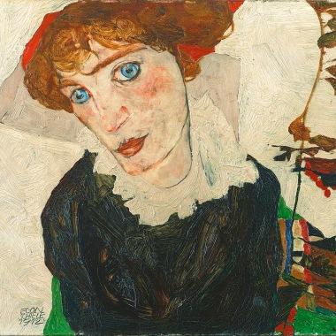 'Portrait of Wally Neuzil', by Egon Schiele, 1912.
