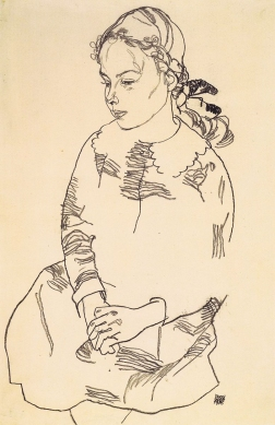 Portrait of Eva Steiner, 1918.