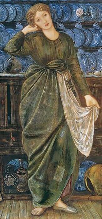 'Cinderella', by Edward Burne-Jones, 1863.