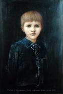 Portrait of Denis Mackail, grandson of the artist, by Burne-Jones.