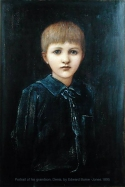 Portrait of Denis Mackail, grandson of the artist, by Burne-Jones.