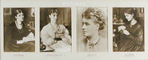 The Macdonald sisters.Georgiana Burne-Jones, Sisterhood.